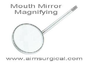 mouth mirror magnifying