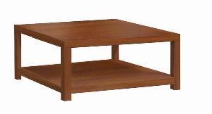 001 coffee table mahogany wood square