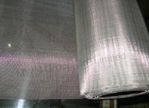 plain woven mesh wire