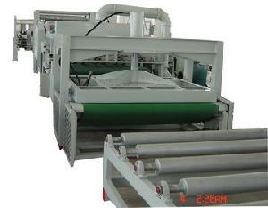 honeycomb paperboard machine