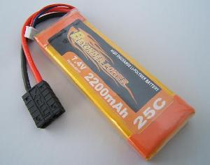 li polymer battery pack 2200mah rc