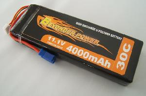 polymer lithium battery pack 4000mah