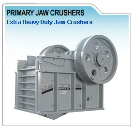 primary jaw crusher