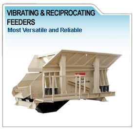 vibrating reciprocating feeder