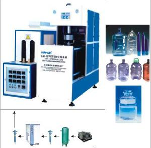 cm 12 semiautomatic bottle blow molding machine