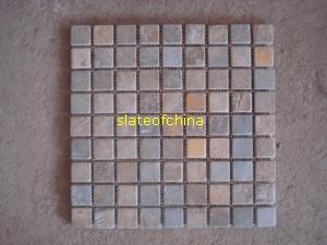 slate mosaic slateofchina
