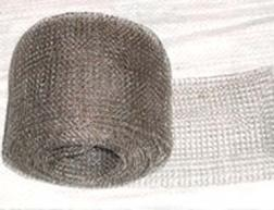 ss knitted wire mesh filter