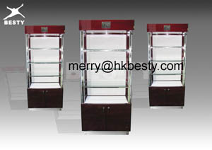 wall cabinet jewellery stores