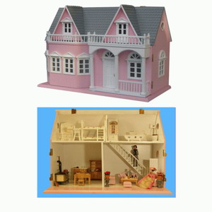 doll house wood furniture miniature lamps