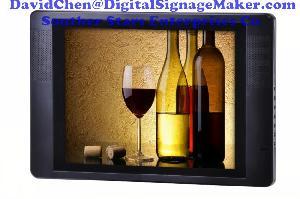 15inch lcd advertising frames digital advertisie screens screen usb cf card