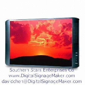 19inch monitor lcd screen ad media player screens