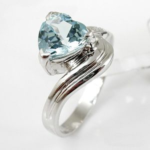 925 silver blue topaz ring 5875r