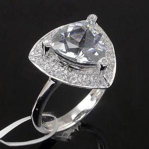 925 silver blue topaz ring 7846r