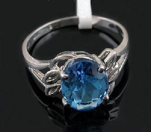 factory 925 silver blue topaz ring garnet bracelet citrine earring ruby necklace