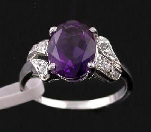 925 silver amethyst ring sapphire rainbow stone earring ruby bracelet