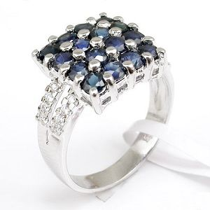 925 silver sapphire ring y00091602 stone 3