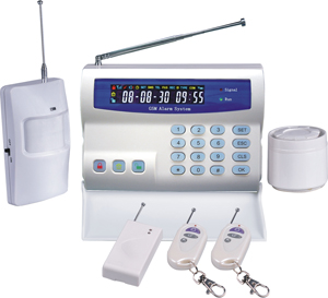 wireless security alarm system house