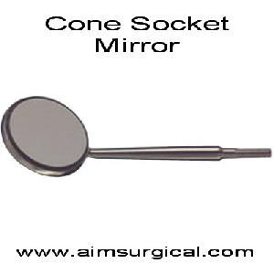 cone socket mouth mirrors