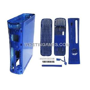 blue replacement housing shell xbox360