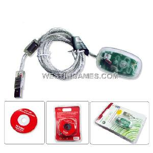 xbox360 pc wireless gaming receiver transparent