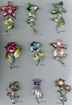 fashion flower brooch