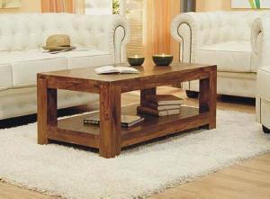 coffee table bali indonesia mahogany teak furniture rectangular 120 cm