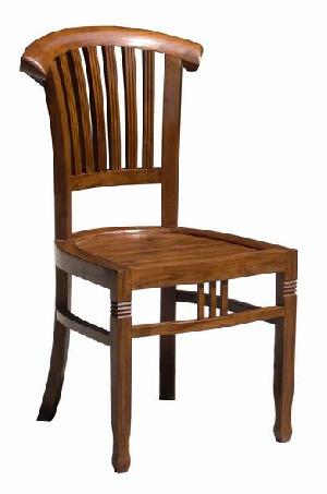 colonial dining chair mahogany teak indoor furniture indonesia