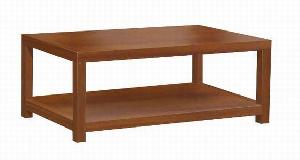 teak mahogany rectangular coffee table indoor furniture