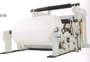 reeler paper machinery preparation cutter pulp