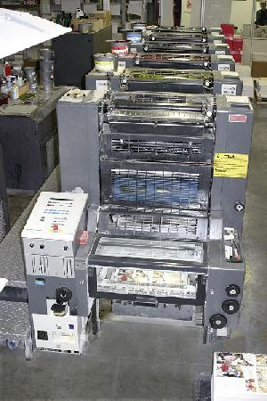 heidelberg speedmaster sm 52 6p six colour offset printing machine