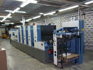 offset machine 2001 kba rapida 74 4 lx alv2 pwha