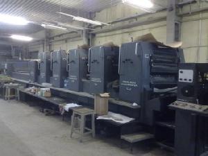 offset machine age 1994 heidelberg 102 5 lx