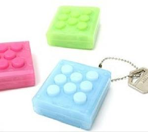 bubble wrap toy keychain