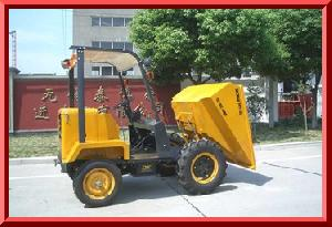 dumper hydraulic tipping hopper electric starting