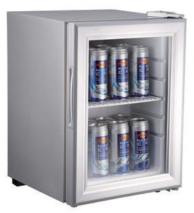 21 liters display racks showcase show case cooler cabinet refrigerant r134a