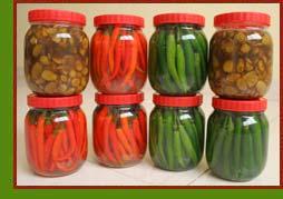 chilli pepper brine