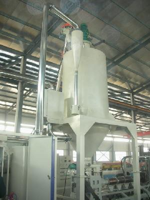pet dehumidifed dryer crystalization system