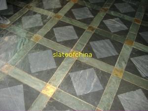 green paving stone slate slateofchina