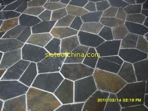 meshed slate tumbled mosaic slateofchina