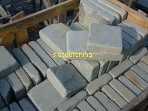 tumbled slate cube stone slateofchina quarries owner exporter