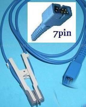 nellcor ds 100a oximeter sensor spo2 animal 7pin