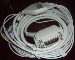 simens ekg cable 10 leads cardiostat 31 31s1 3t 703 710