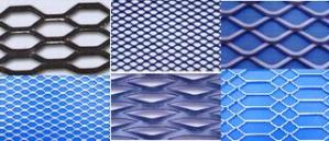 2inch x 0 9inch expanded metal mesh panel