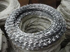 concertina wire razor