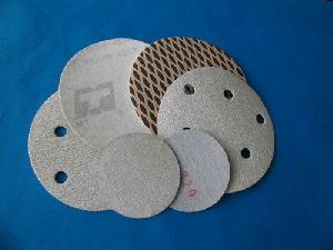 abrasive paper disc psa velcro