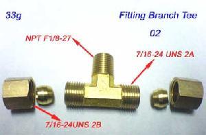 1 4tube compression brass x1 8 27 male pipe