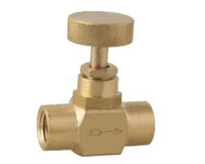 brass instrument pressure gauge needle valve
