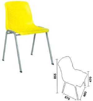 stackable plastic chair seat metal furniture manfuacturer