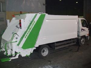 hydrolic refuse hardox box garbage collector