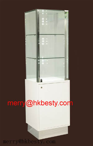 jewelry wall cabinet showcases